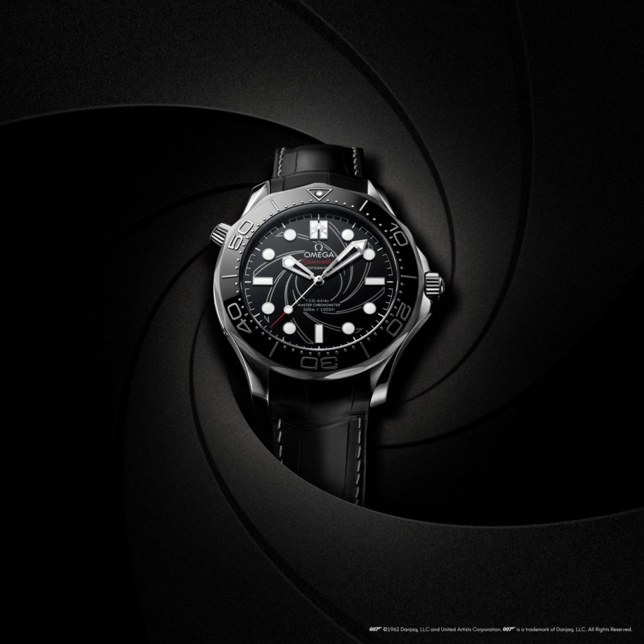 Cheap Seamaster Diver 300M James Bond Number Edition Replica Watch