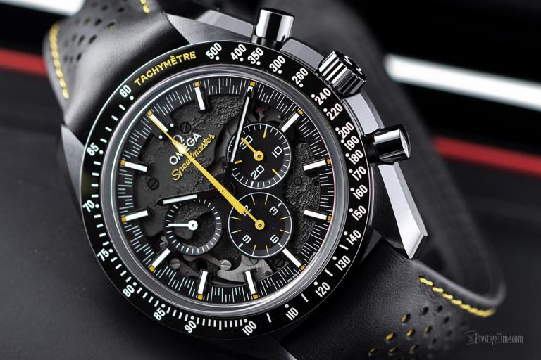 On Hands of Cheap Omega Speedmaster Moonwatch Apollo 8 Replica Watches