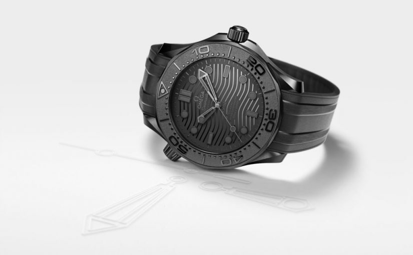 Perfect Omega Doubles New Seamaster Diver 300M Black Replica Watches