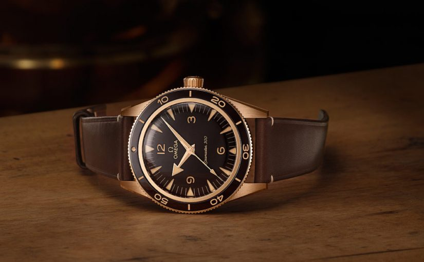 Bronze Gold Alloy:Best Omega New Seamaster 300 Replica Watches
